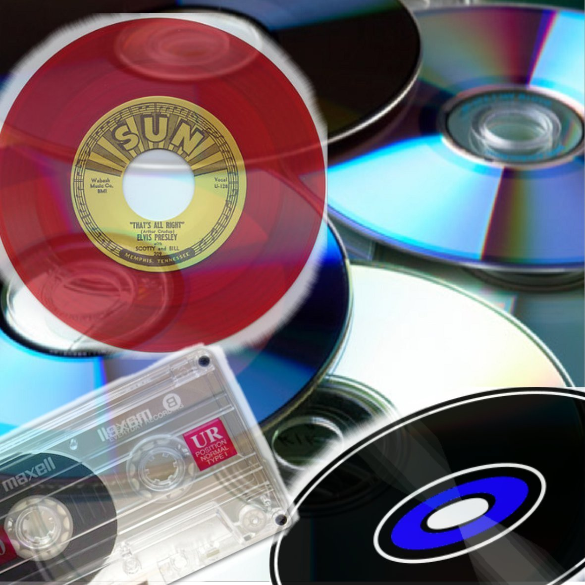 CD,s Vinyl Tapes