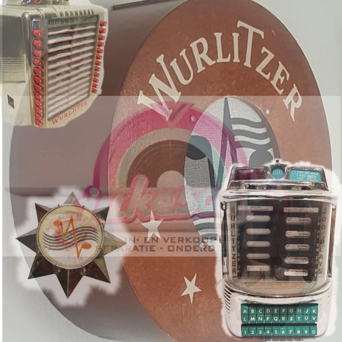 Wurlitzer Accessories